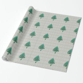 """Batik del árbol 1 papel de embalaje 30"""" x 6' papel de regalo"""