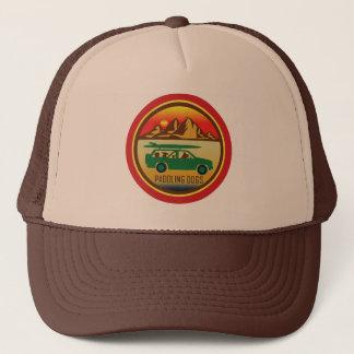 Batimiento del gorra del camionero del vintage de