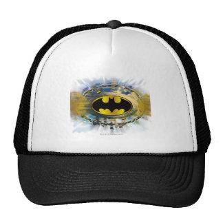 Batman adornó el logotipo gorra