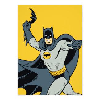 Batman Batarang Invitación 12,7 X 17,8 Cm