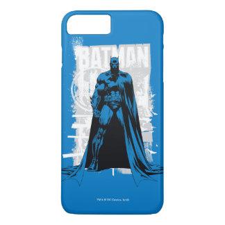 Batman cómico - vintage a la vista funda iPhone 7 plus