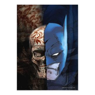 Batman de los Muertos Invitación 12,7 X 17,8 Cm