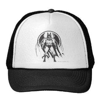 Batman del logotipo gorros