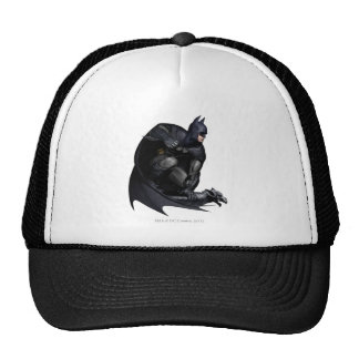 Batman que se agacha gorras de camionero