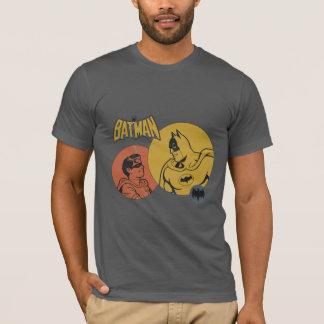 Batman y gráfico del petirrojo - apenado camiseta