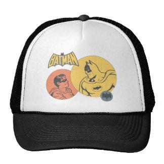 Batman y gráfico del petirrojo - apenado gorra