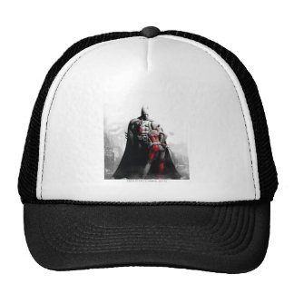 Batman y Harley Gorros Bordados