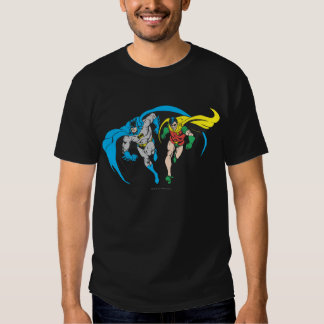 Batman y petirrojo camiseta