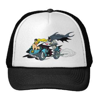 Batman y petirrojo en Batcycle Gorro De Camionero