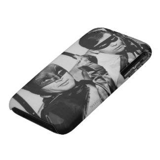 Batman y petirrojo en Batmobile Case-Mate iPhone 3 Cobertura