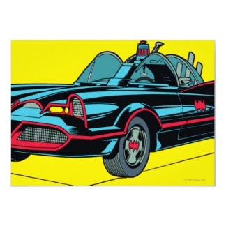 Batmobile Invitación 12,7 X 17,8 Cm