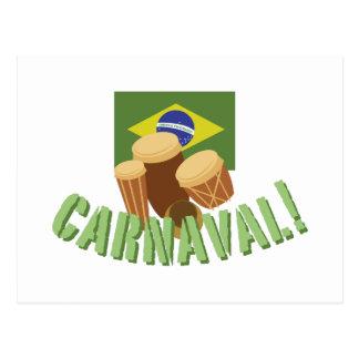 Batucada teclea Carnaval Postal
