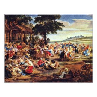 Bauer justo feria flamenca por Rubens Peter Paul Invitacion Personal