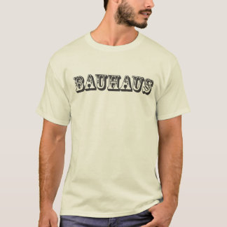bauhaus en camiseta occidental de la fuente