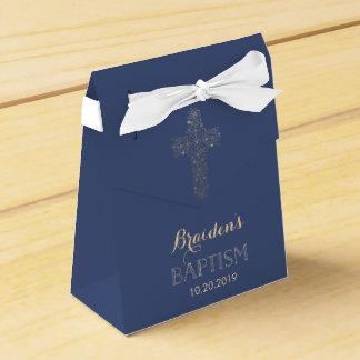 Bautismo, caja del favor del bautizo - cruz del