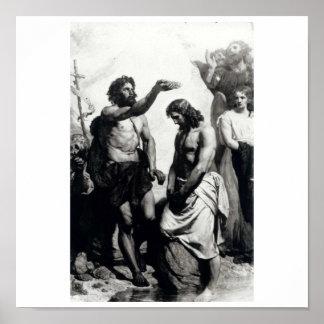 Bautismo de Cristo. circa 1879 Póster