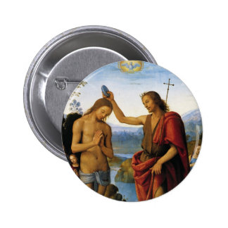 Bautismo de Cristo de Pedro Perugino Pins