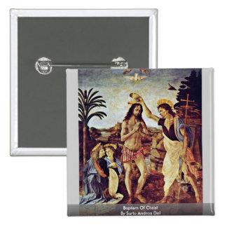 Bautismo de Cristo de Sarto Andrea Del Pin