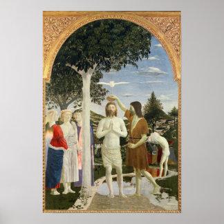 Bautismo de Cristo Poster