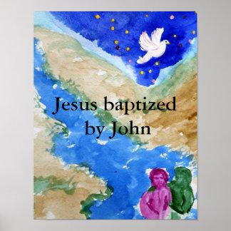 Bautismo de Jesús Póster