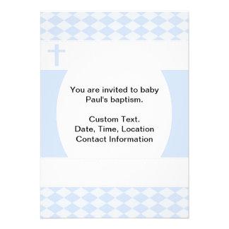 Bautismo del bebé comunicado personalizado