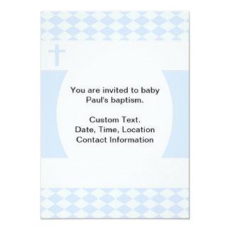 Bautismo del bebé invitación 12,7 x 17,8 cm