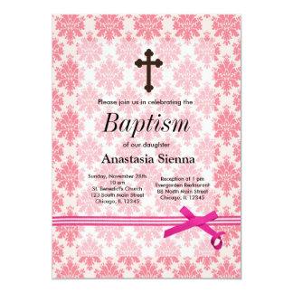 Bautismo Invitación 12,7 X 17,8 Cm