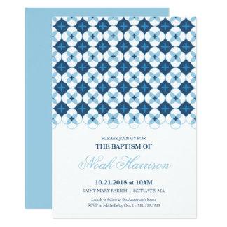 Bautismo, invitación del bautizo - el muchacho