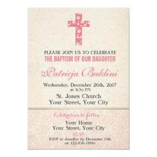 Bautismo, invitación del bautizo para el CHICA