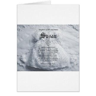 bautizo-bebé-regalo tarjeta de felicitación