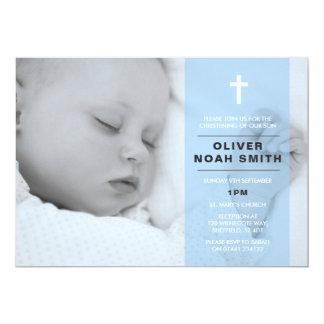 Bautizo del bebé/invitación del bautismo invitación 12,7 x 17,8 cm