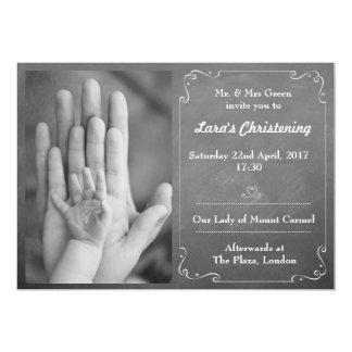 Bautizo e invitación del bautismo