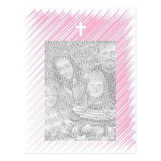 Bautizo/invitación del bautismo (chica) postal