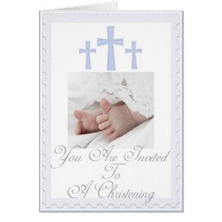 Tarjetas de felicitación para bautizos