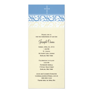 Bautizo/invitación del bautismo - personalice invitación 10,1 x 23,5 cm