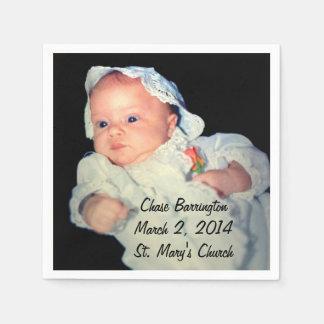 Bautizo la foto del Special del bebé Servilletas De Papel