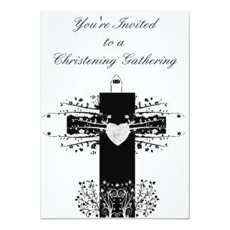Bautizo y invitación de la cruz