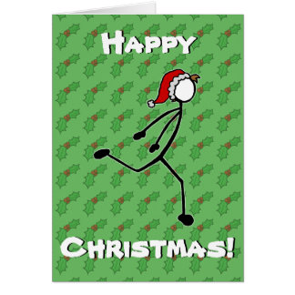 Baya de encargo del acebo de la tarjeta de Navidad