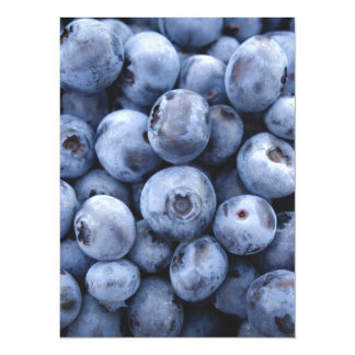 Baya de las bayas de la fruta del bocado de los invitación 13,9 x 19,0 cm