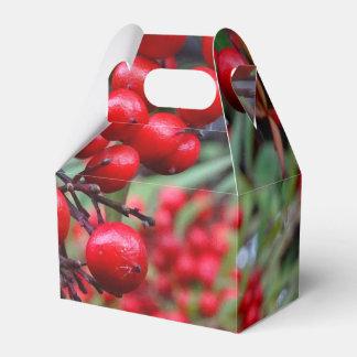 Bayas del otoño caja de regalos