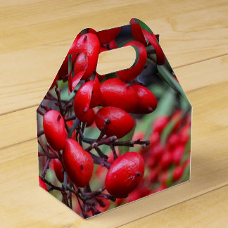 Bayas del otoño caja para regalos