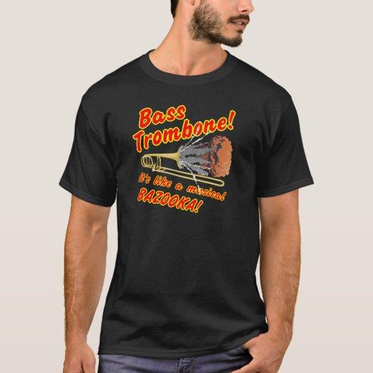 Bazuca bajo del Musical del Trombone Camiseta