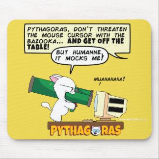 Bazuca Mousepad de Pitágoras Alfombrilla De Ratón