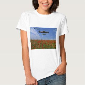 BBMF y amapolas Camisas