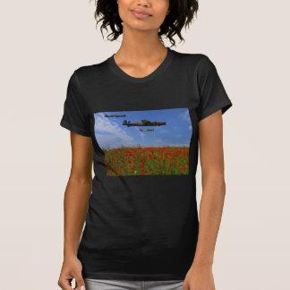BBMF y amapolas Camiseta