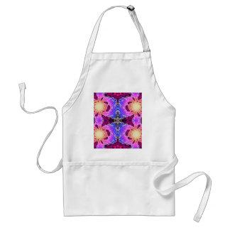 BBQSHOES: Diseño del arte del fractal de A15z Delantal