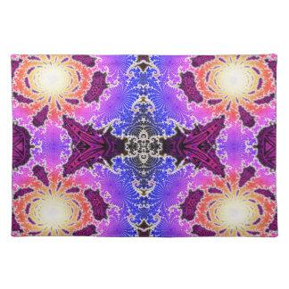 BBQSHOES: Diseño del arte del fractal de A15z Manteles Individuales