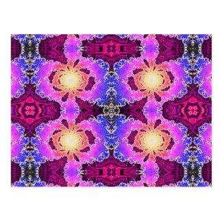 BBQSHOES: Diseño del arte del fractal de A15z Postal