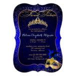 Bckgrnd del dulce 16 Masquerade/DIY de PixDezines Invitacion Personal