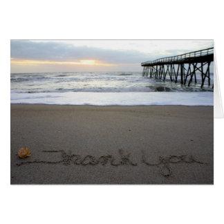 Beachwrite le agradece tarjeta